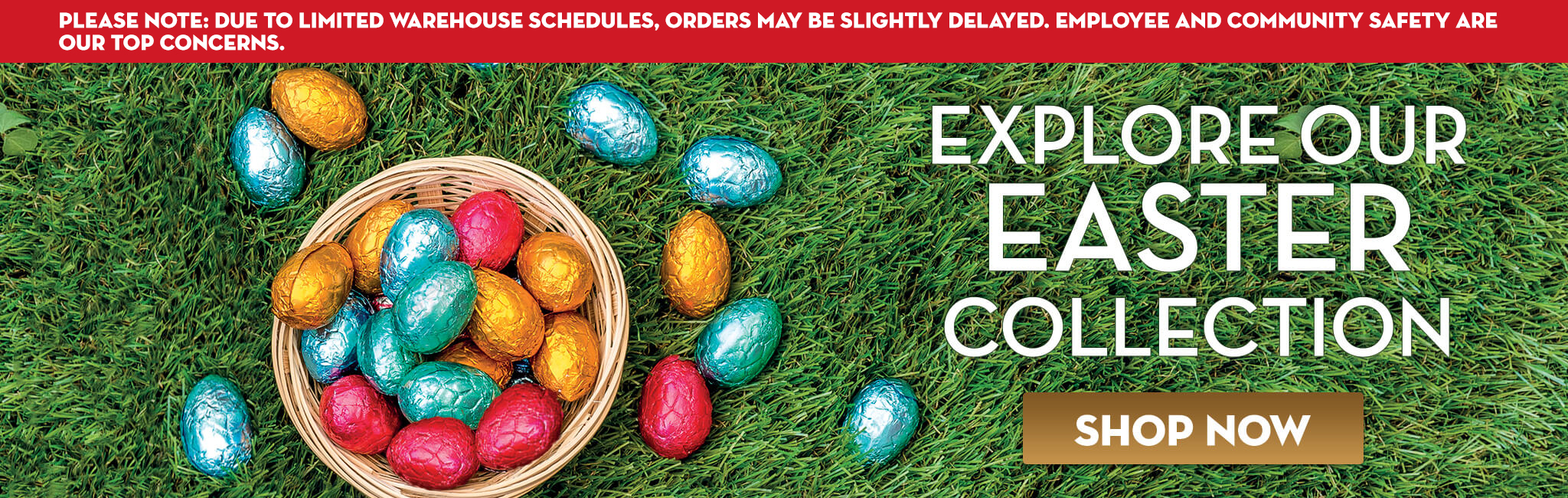 Easter Sale during Covid