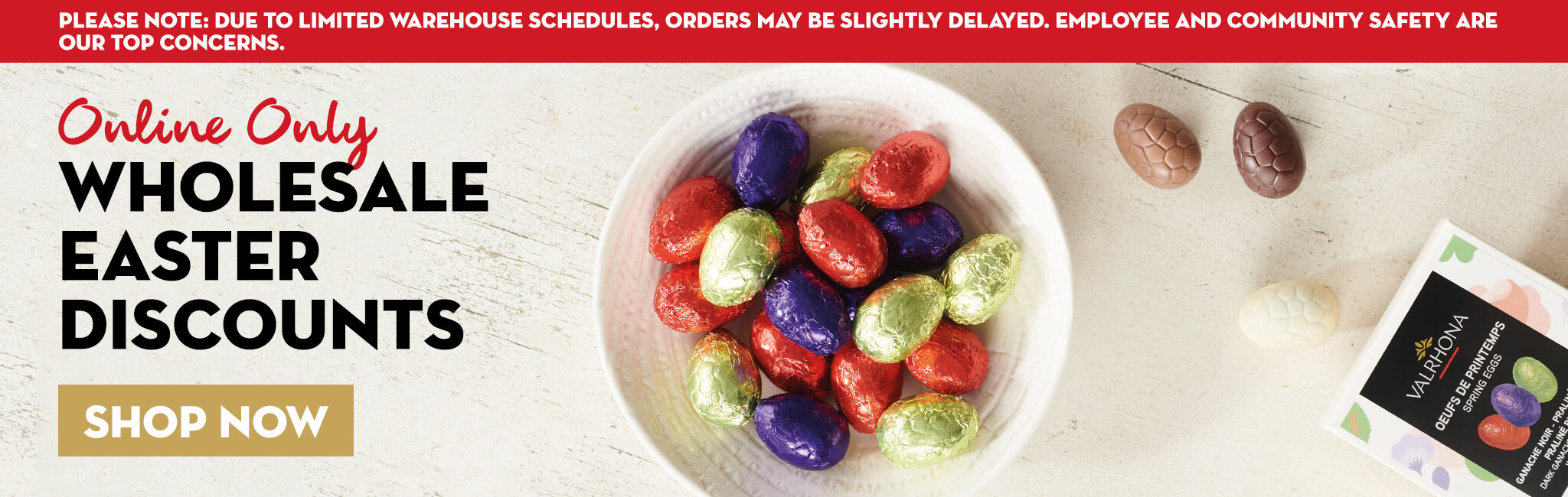 Wholesale Easter Chocolate Eggs Discount Sale