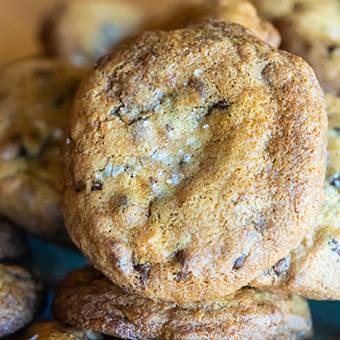 Dark&milk cookies