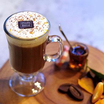 Maple orange hot chocolate - HCF