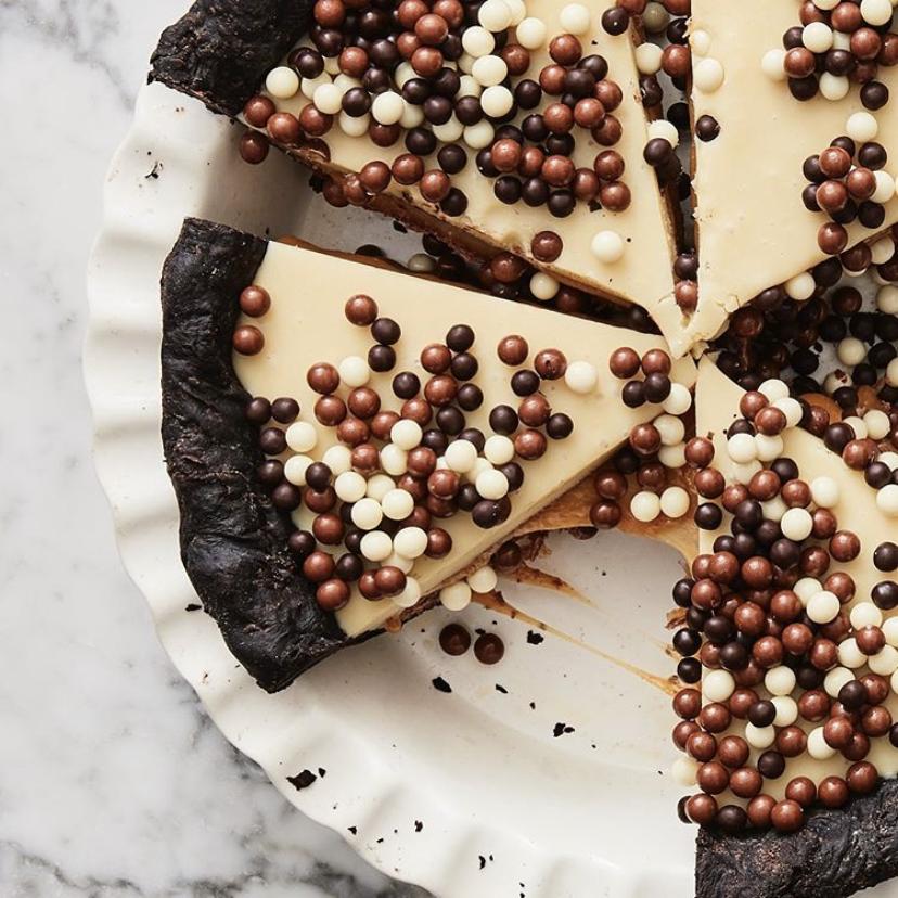 Erin McDowell Chocolate Cream Pie with Peanut Butter Whipped Cream Recipe