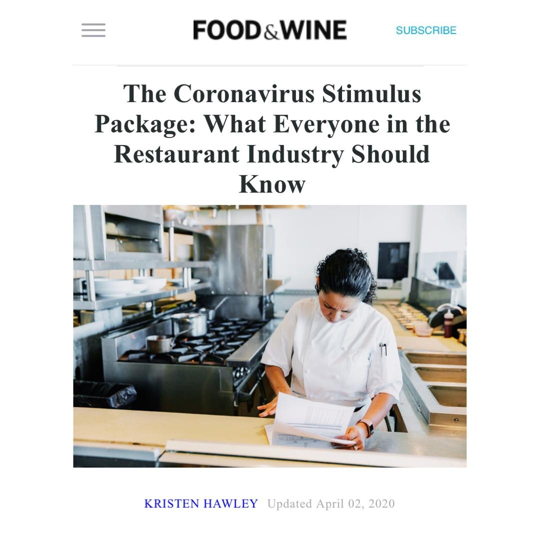 #Food and WIne Article