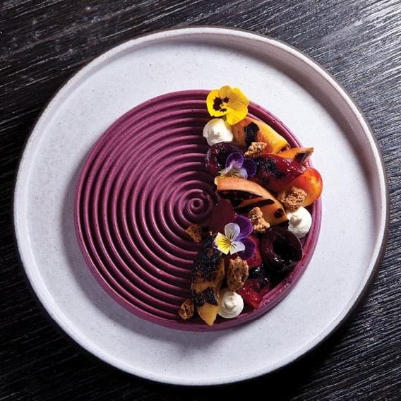 Blueberry Lavender Mousse