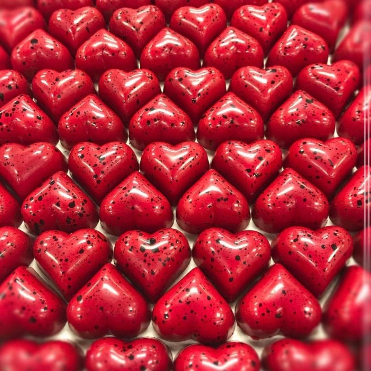 STRAWBERRY INSPIRATION caramels