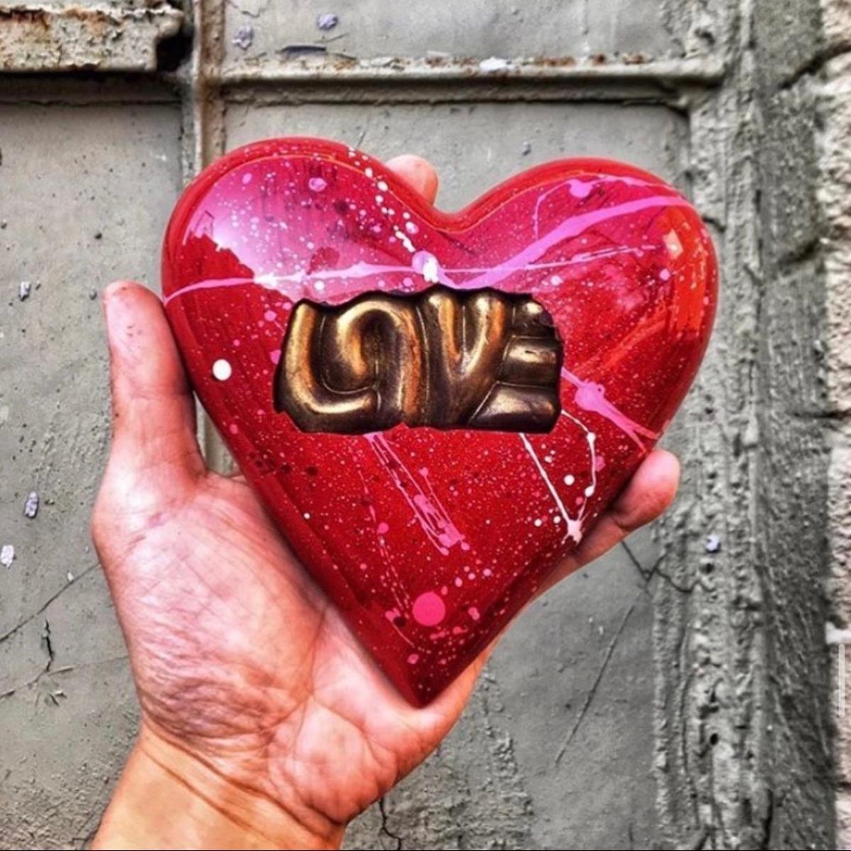 David Chow Chocolate Heart
