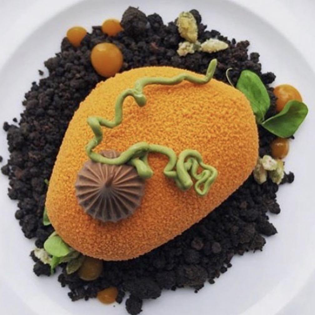 chocolate pumpkin dessert