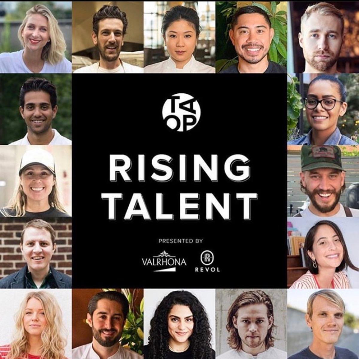 16 RISING TALENT FINALISTS