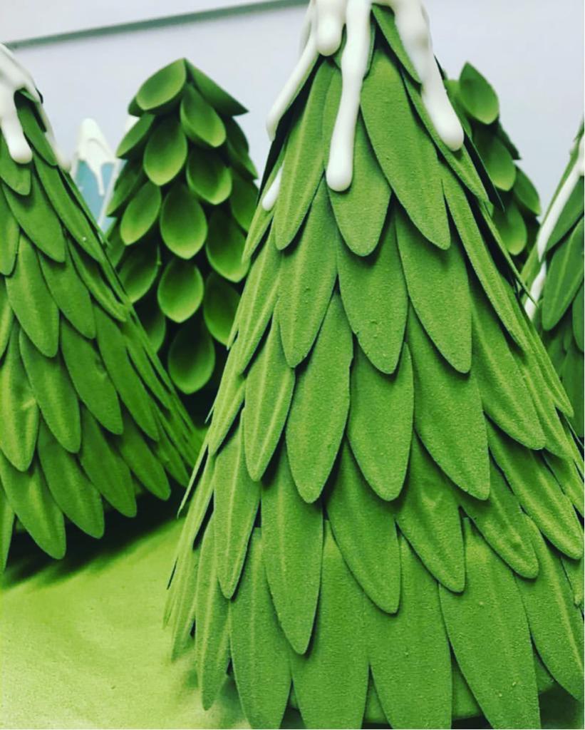 Valrhona Chocolate Christmas Tree
