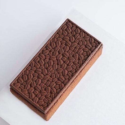 @anaispastrychef Chocolate Coffee Pecan Entremet