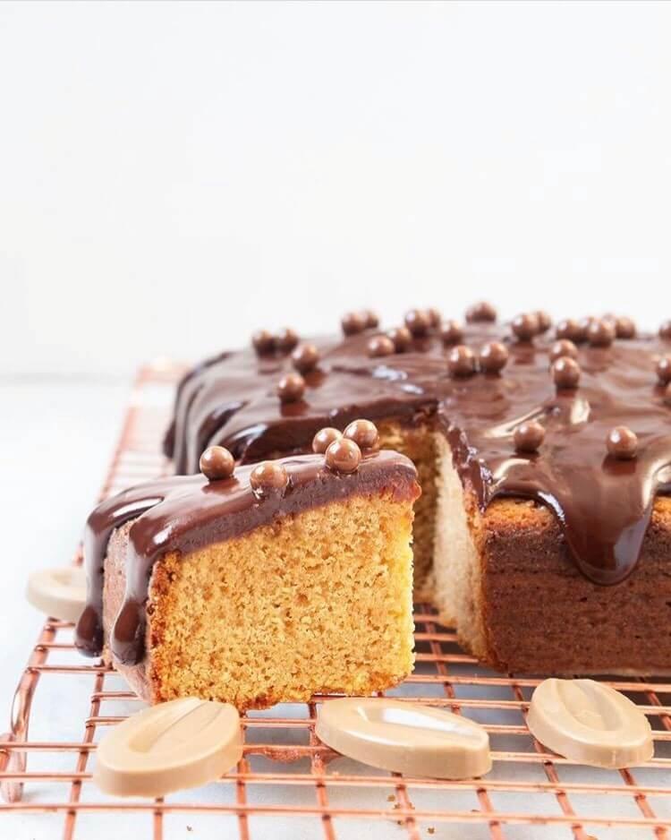 Valrhona Dulcey Blond chocolate Cake