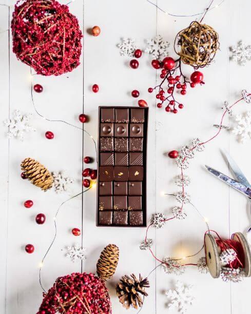Chocolate Bonbon Boxes Ginger Elizabeth