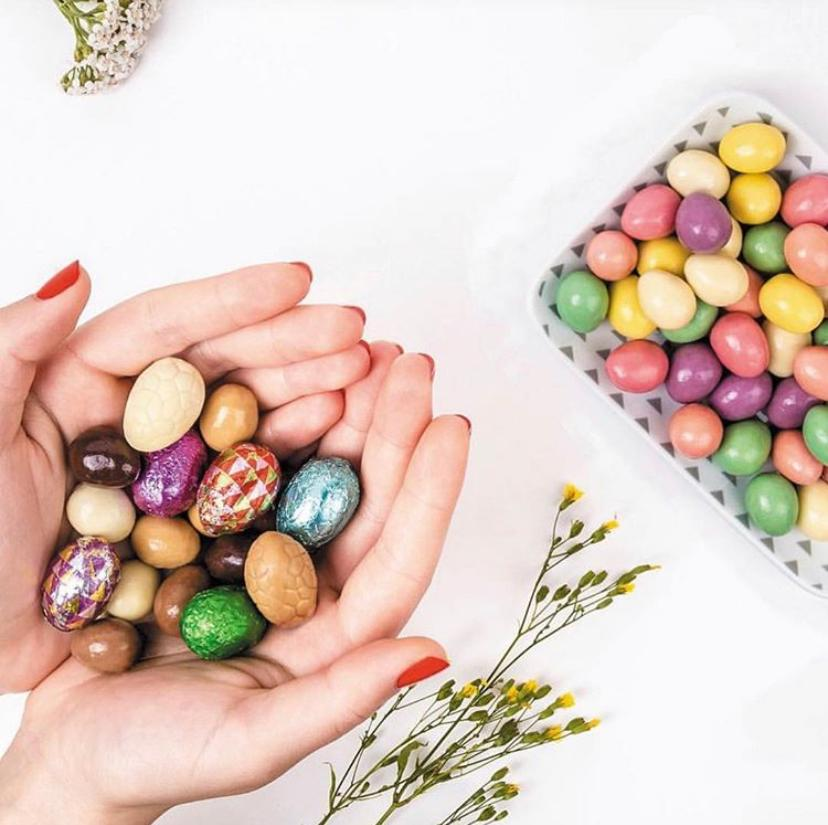 Valrhona Chocolate Easter Eggs